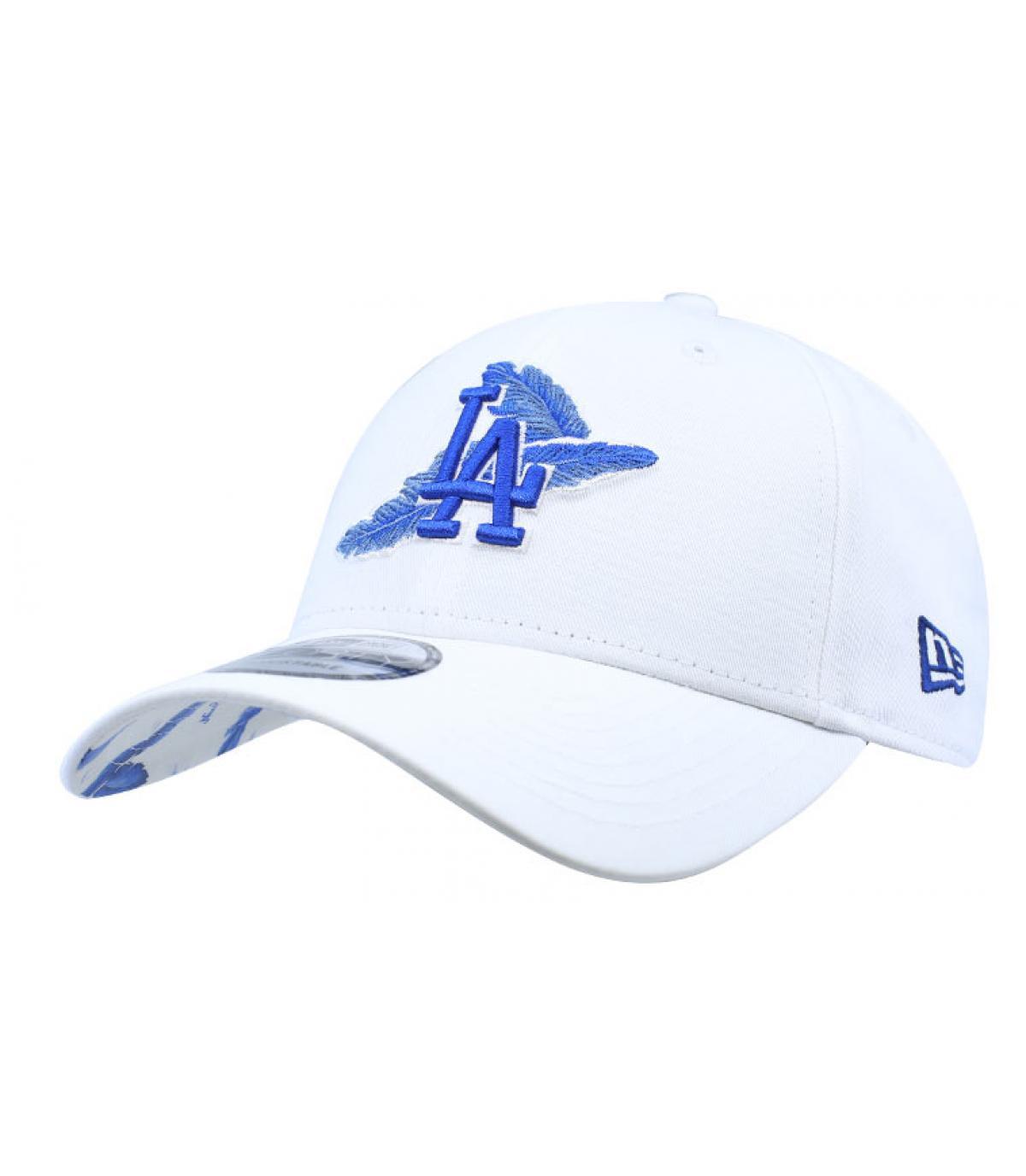Détails Casquette MLB Light Weight LA 9Forty white blue - image 2