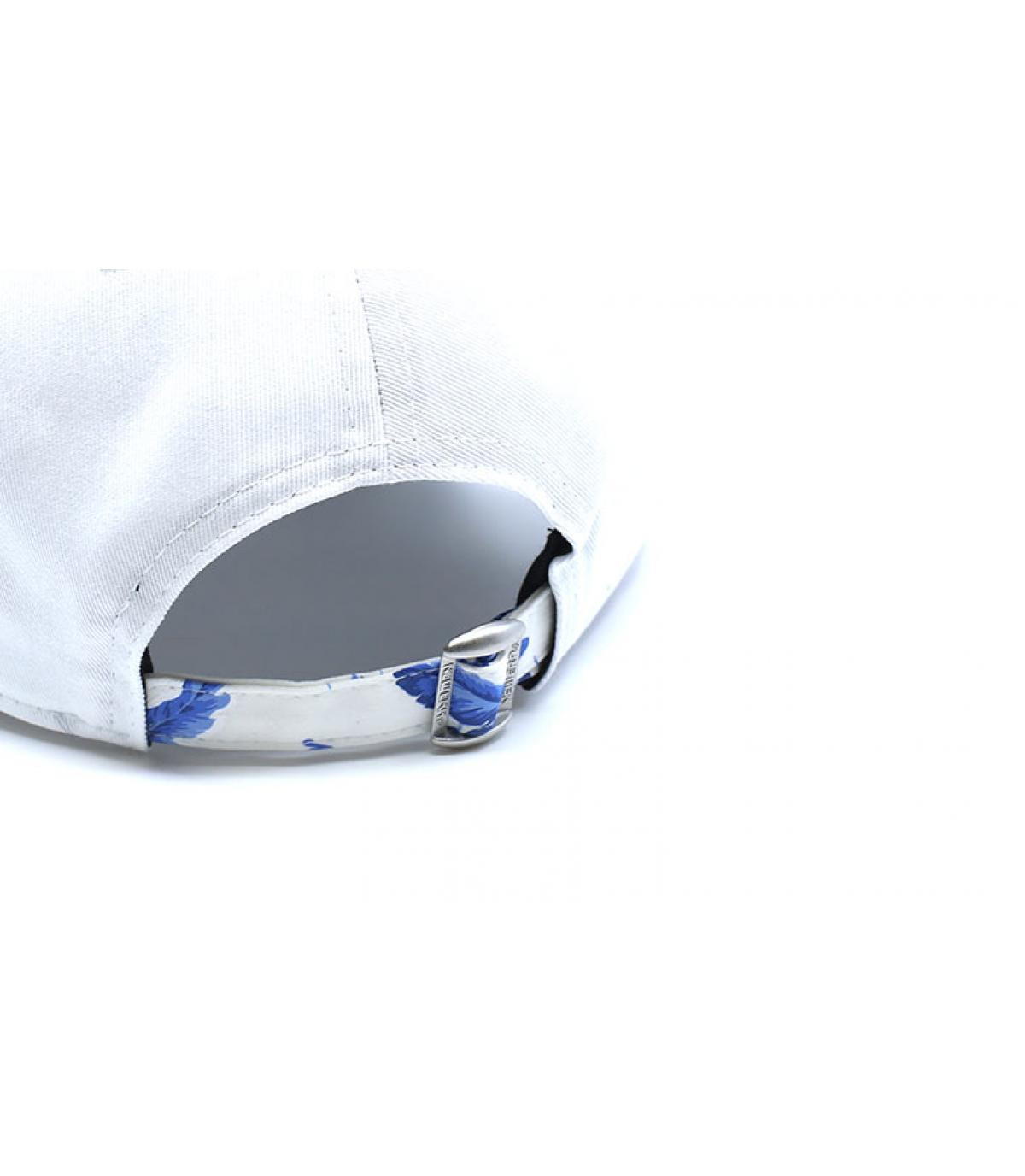 Détails Casquette MLB Light Weight LA 9Forty white blue - image 5