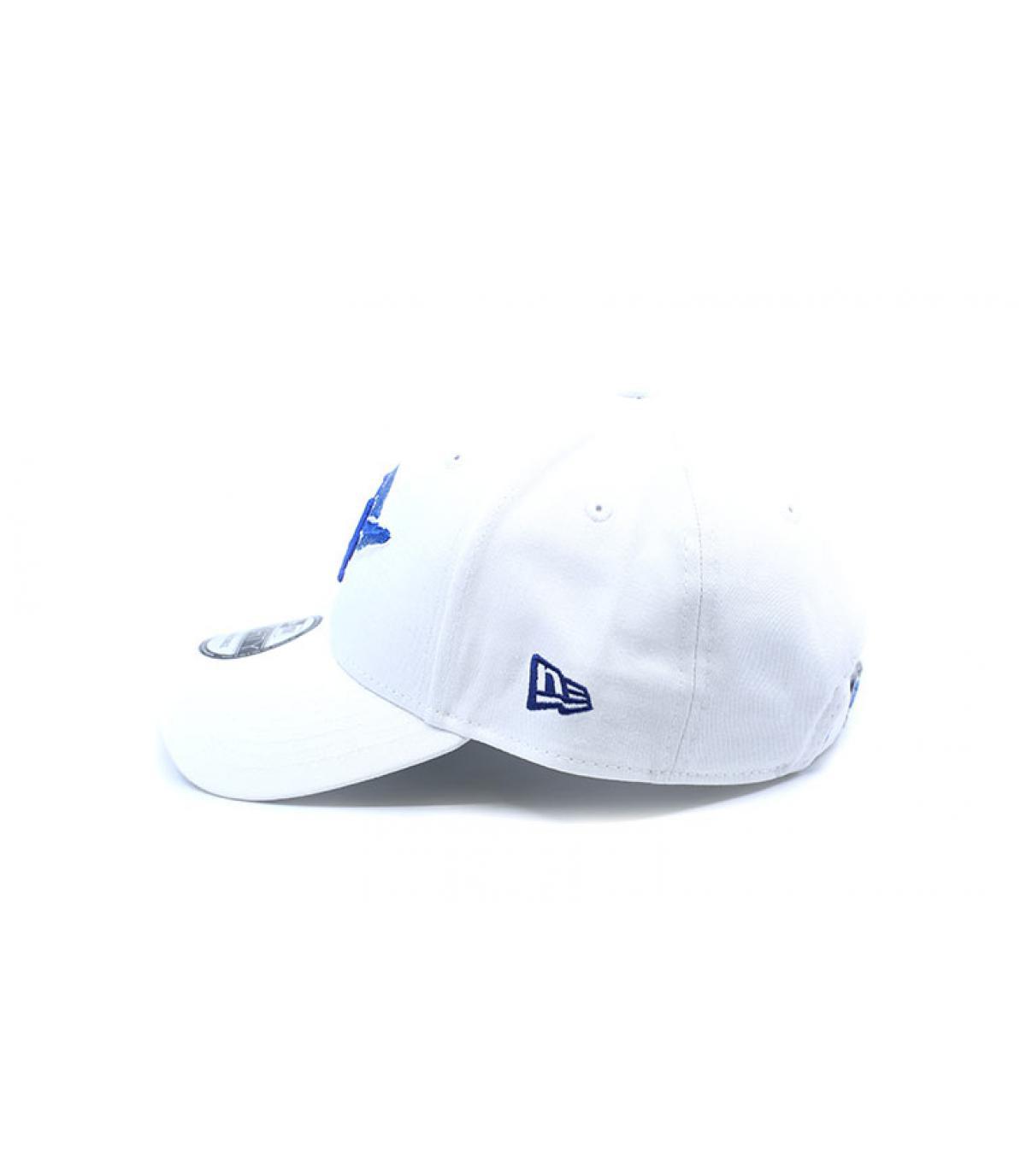 Détails Casquette MLB Light Weight LA 9Forty white blue - image 6