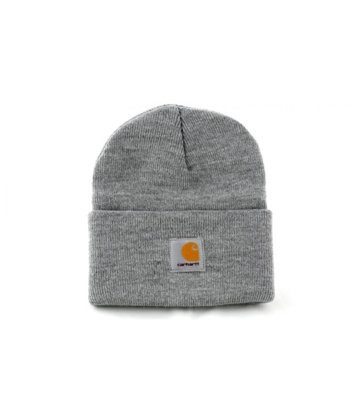 bonnet carhartt gris bonnet revers gris par carhartt. Black Bedroom Furniture Sets. Home Design Ideas