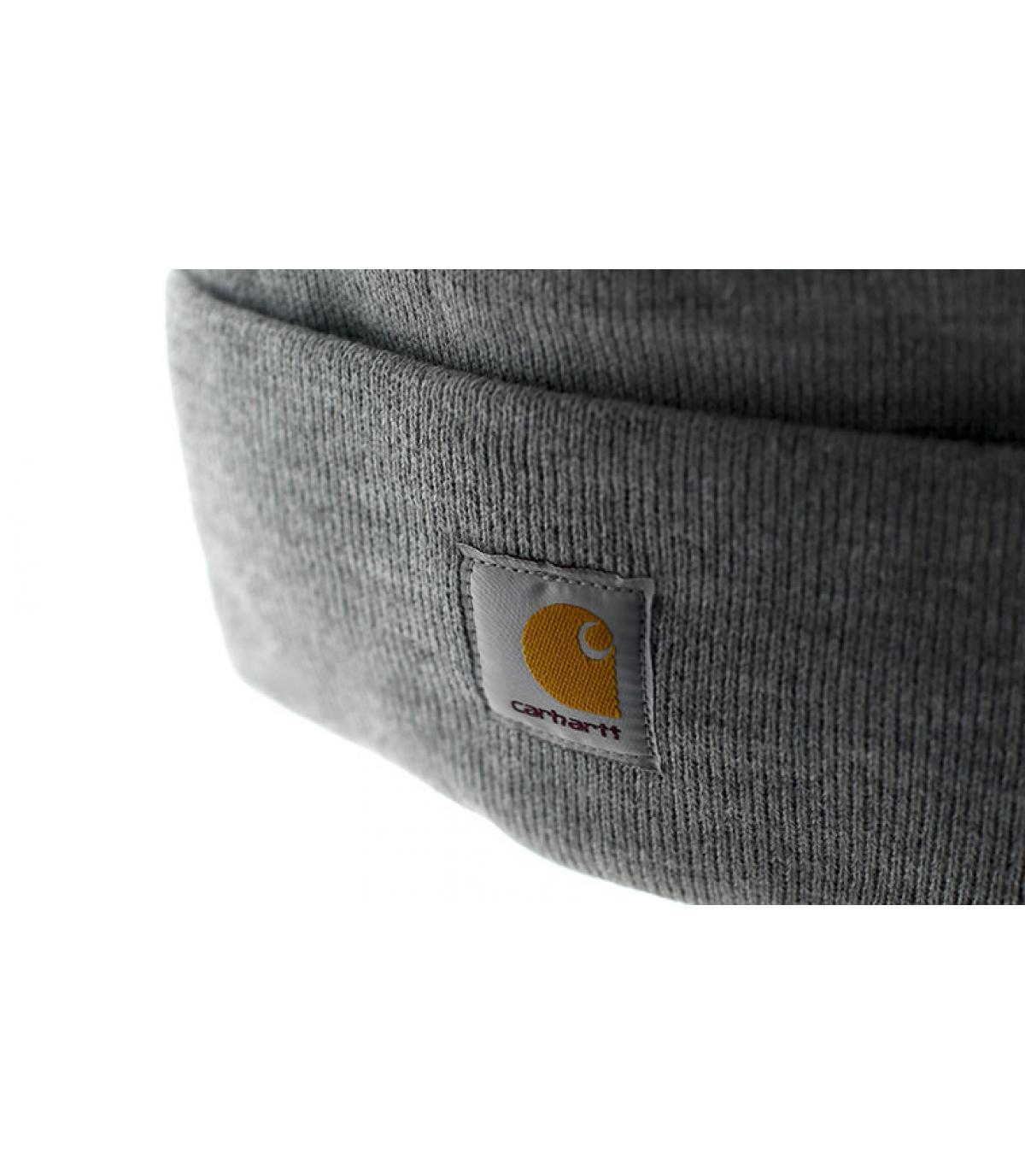 bonnet gris carhartt. Détails Bonnet Watch heather grey , image 3