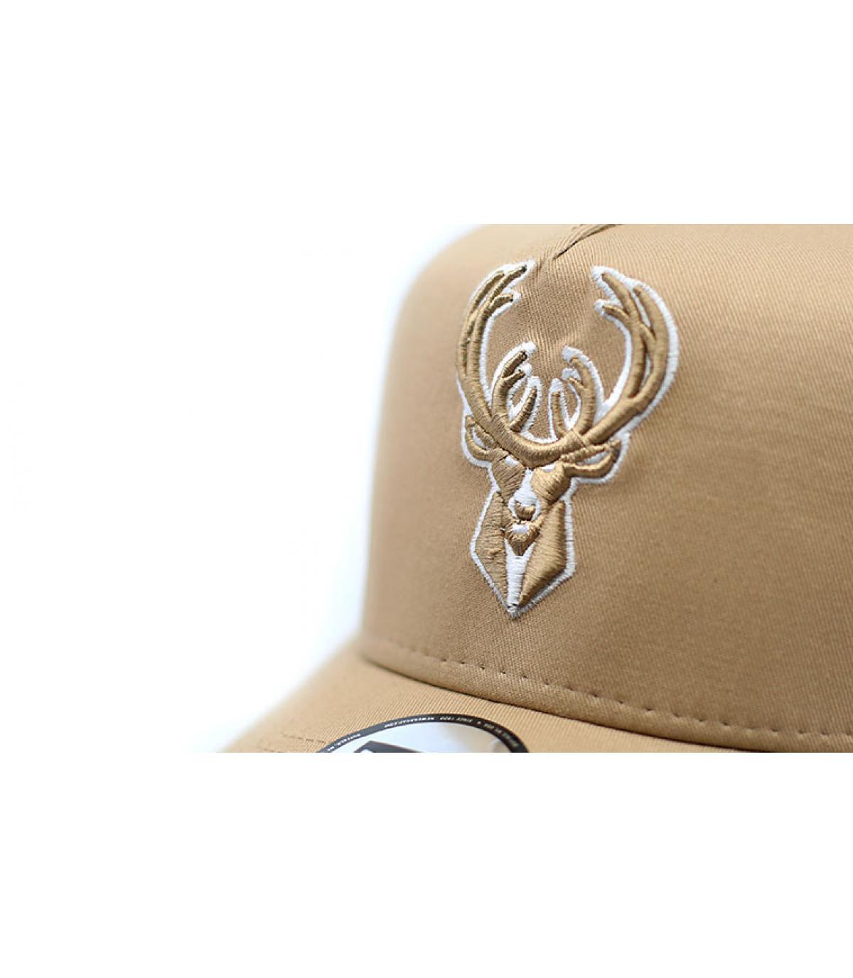 Détails Trucker NBA Ess Bucks camel - image 3