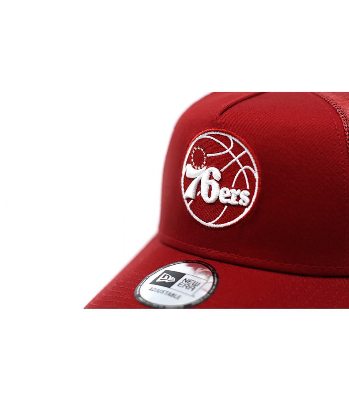 Détails Trucker NBA Ess 76ERS red - image 3
