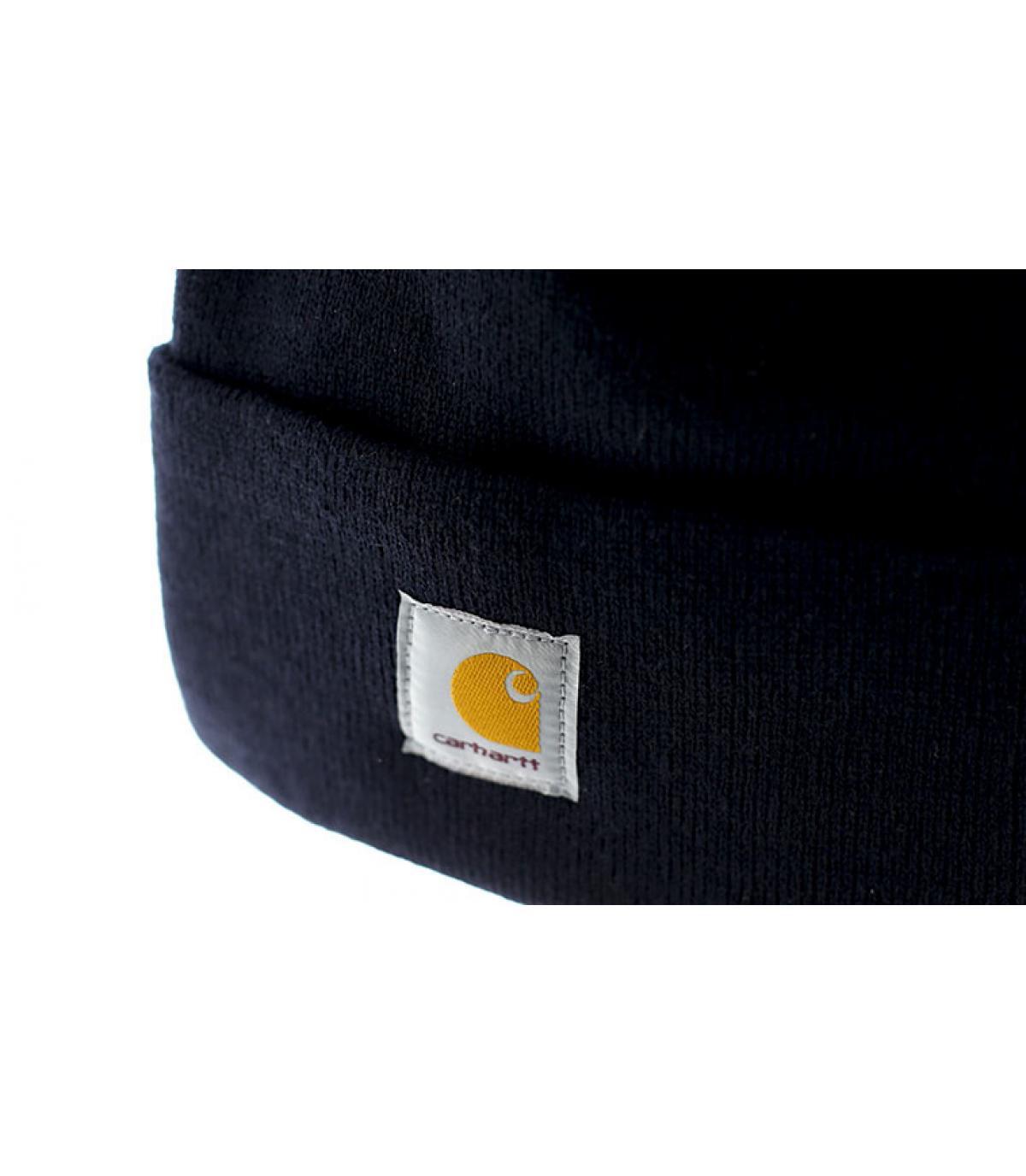Détails Bonnet Watch navy - image 3