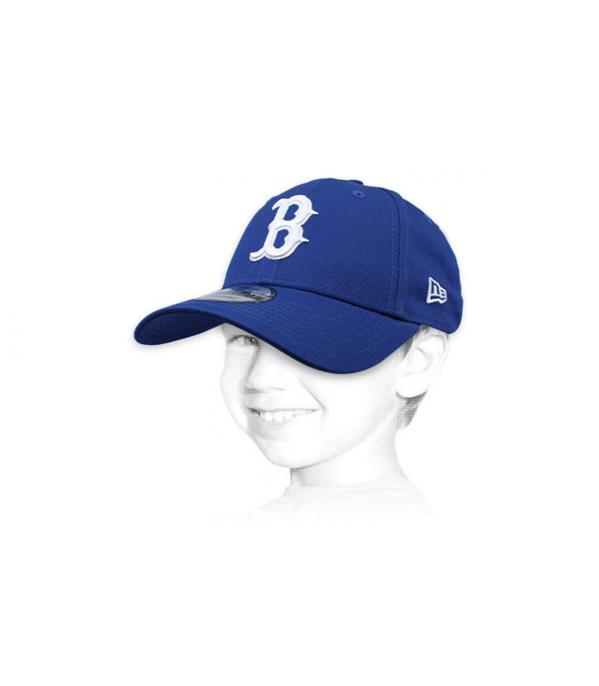 casquette enfant B bleu