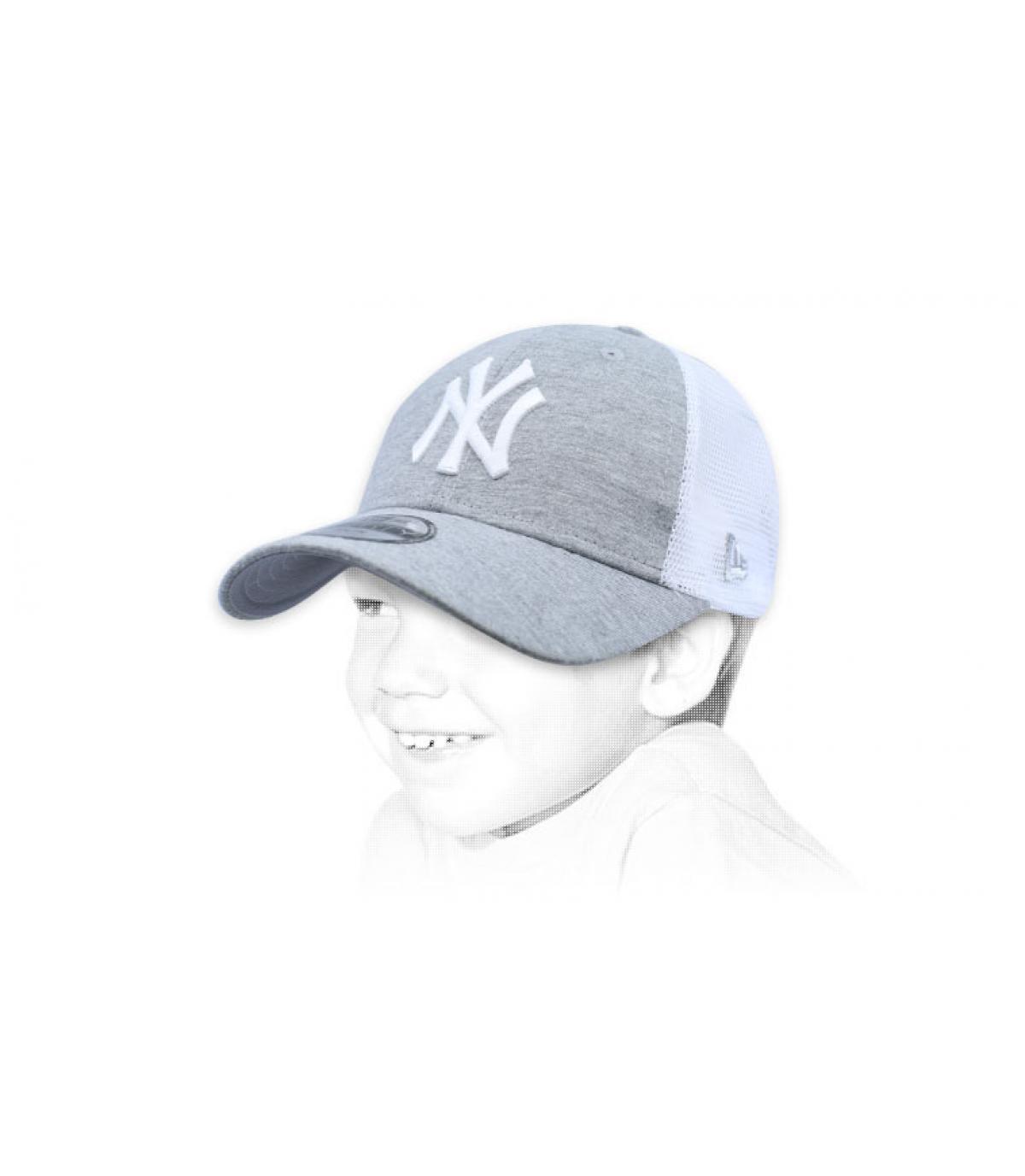 trucker NY enfant gris