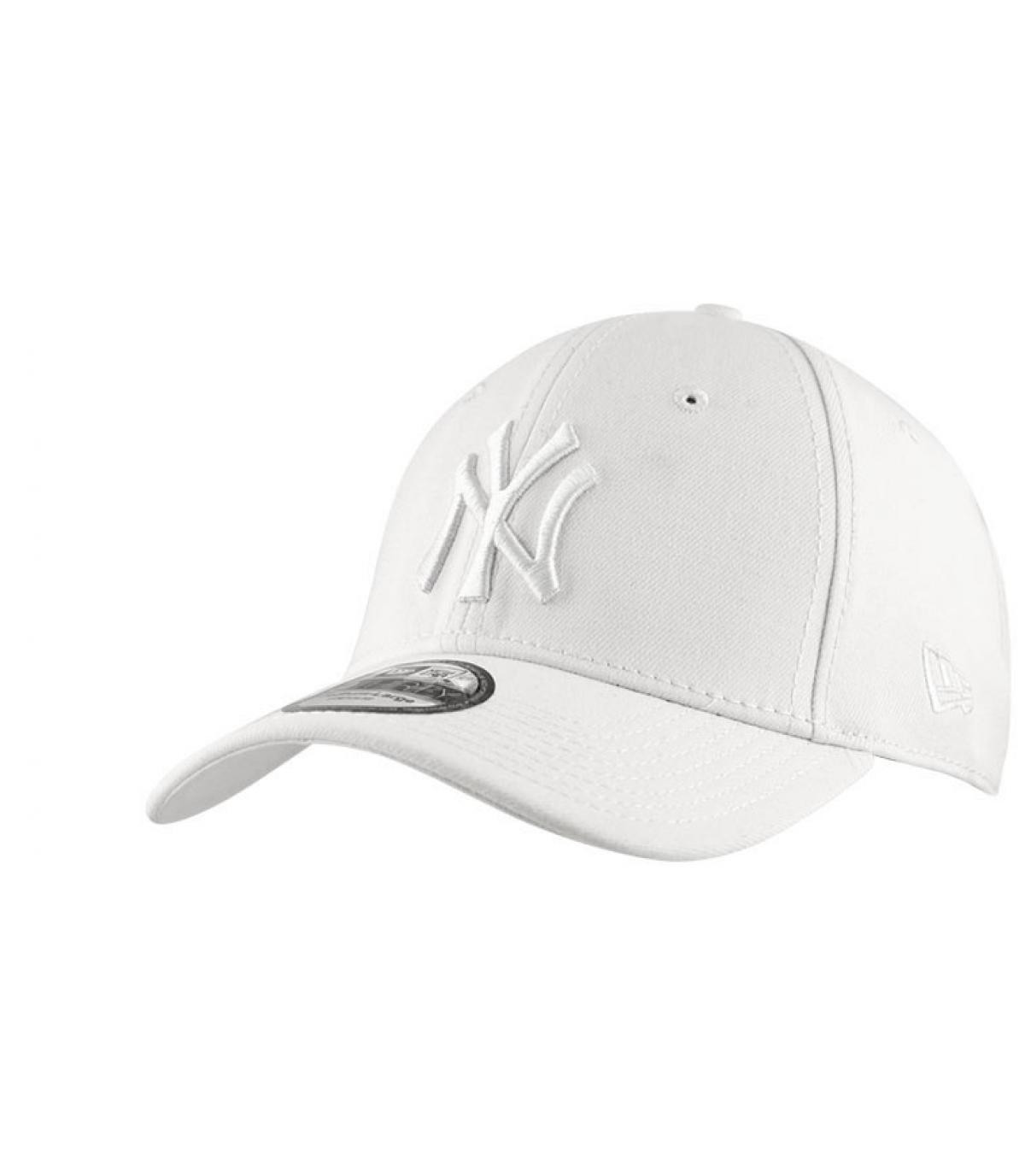 Détails Casquette ny 39Thirty blanche - image 6