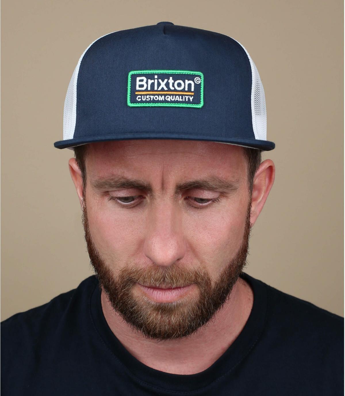 trucker bleu marine Brixton