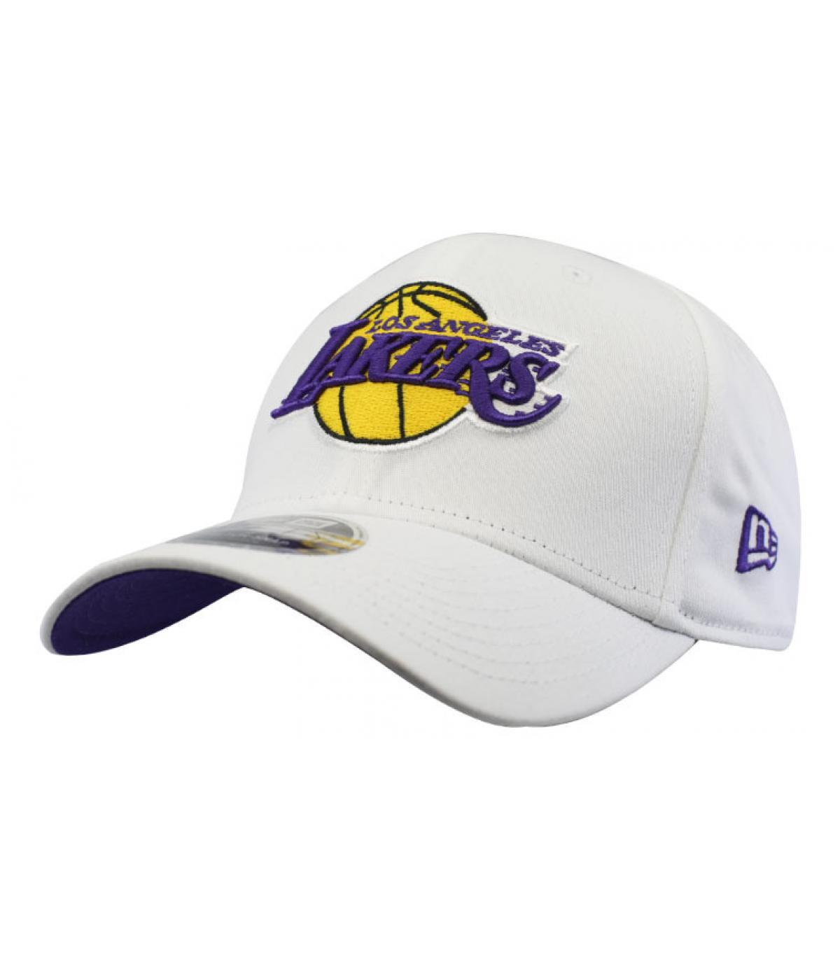casquette Lakers blanc