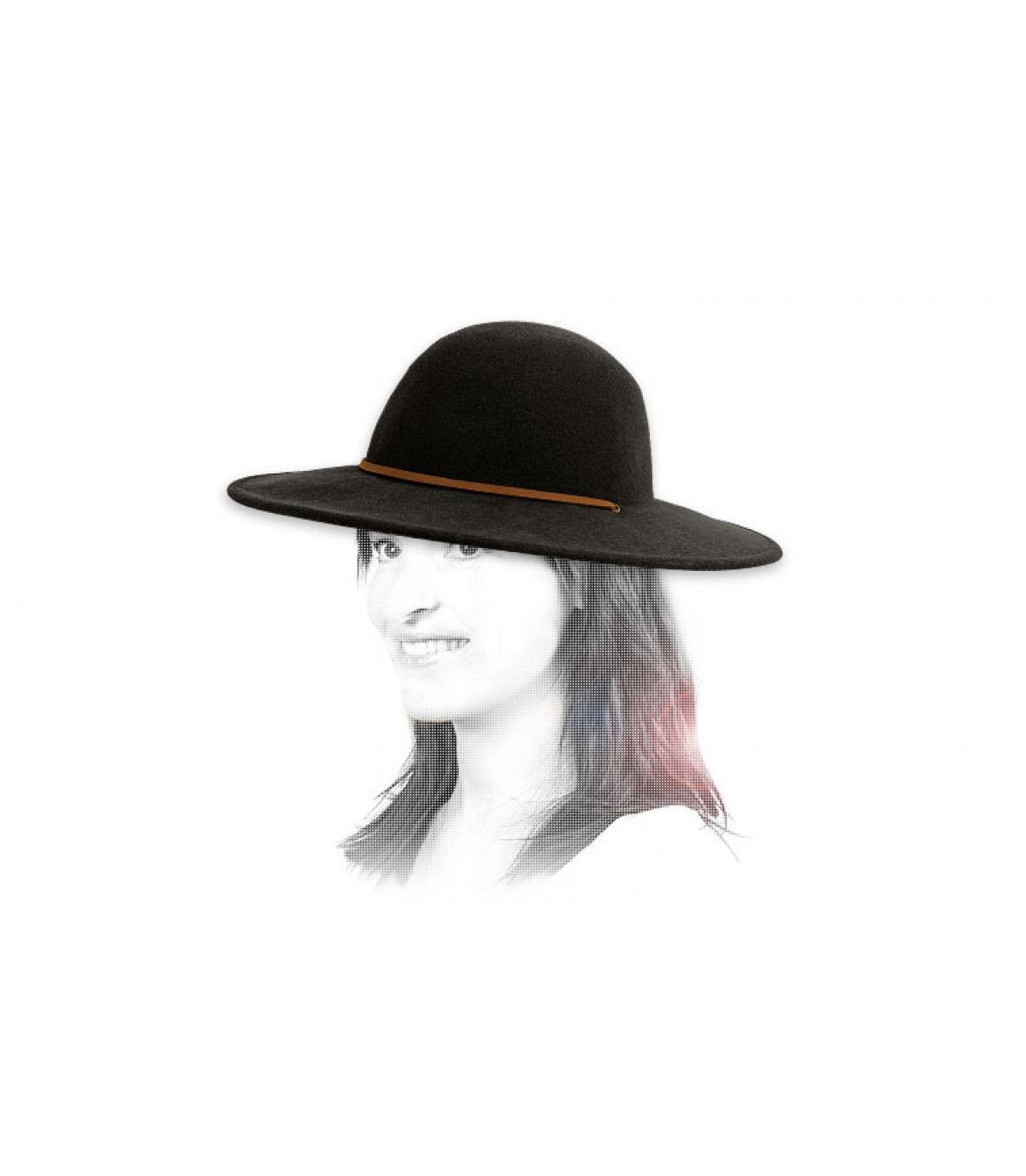 Détails Chapeau femme Tiller black - image 3