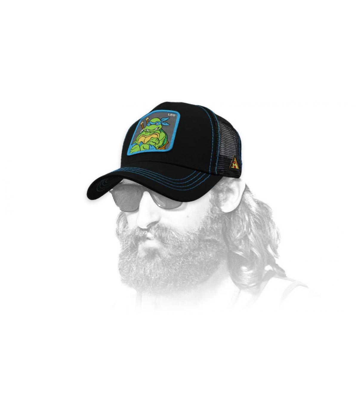 trucker Leonardo noir