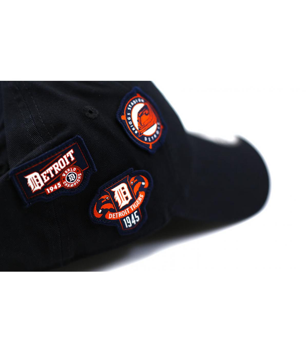 Détails Casquette Cooperstown Patched 9Forty Detroit - image 3