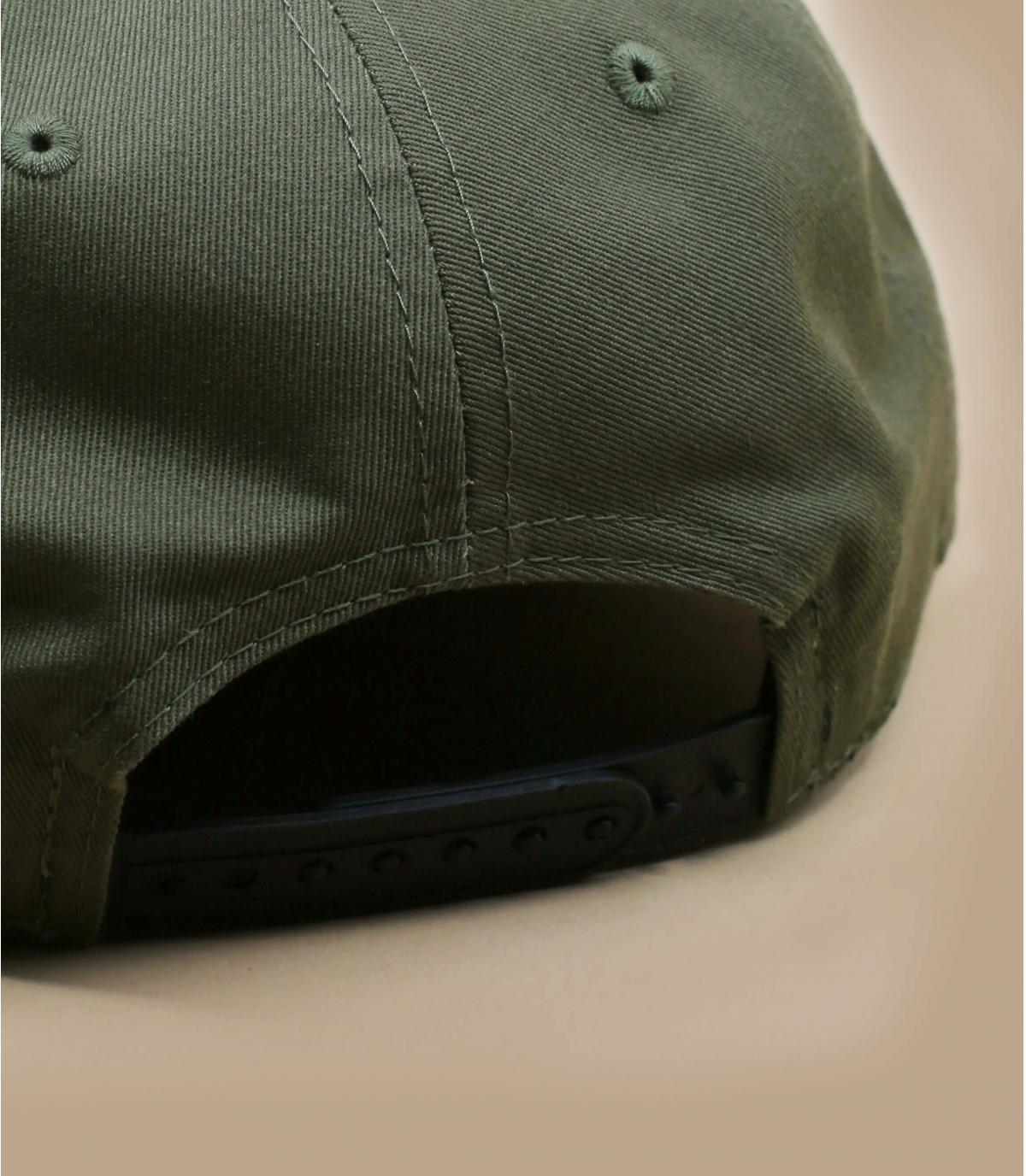 Détails Snapback Colour Block NY 950 olive black - image 4