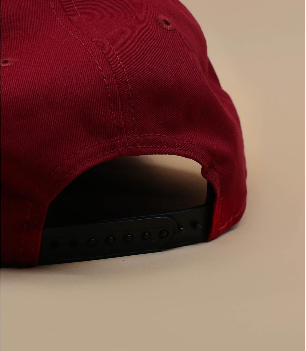 Détails Snapback Colour Block NY 950 maroon black - image 4