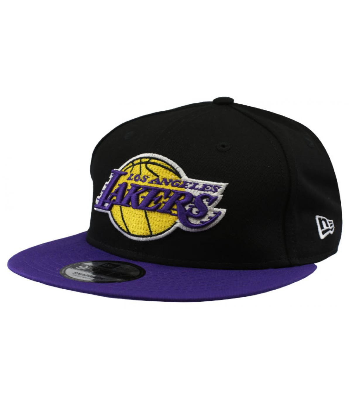 snapback noir violet Lakers
