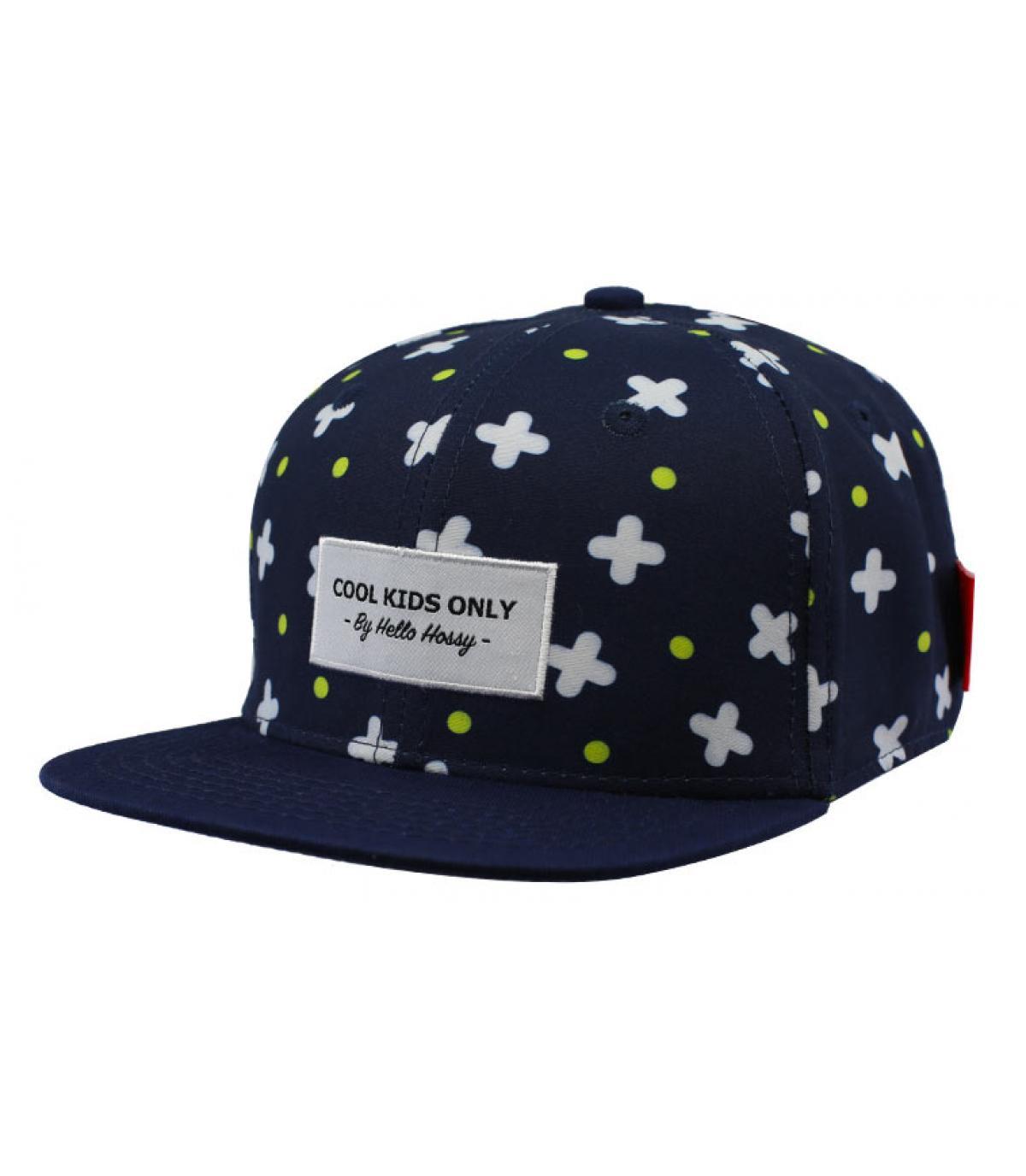 casquette bleu enfant