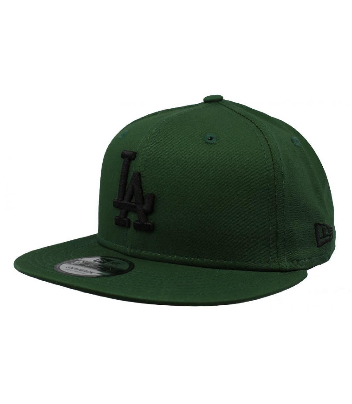 Détails Snapback League Ess LA 950 hooley green black - image 2
