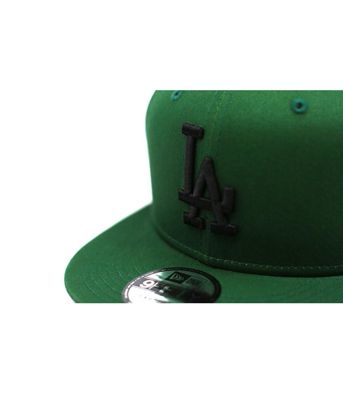 Détails Snapback League Ess LA 950 hooley green black - image 3