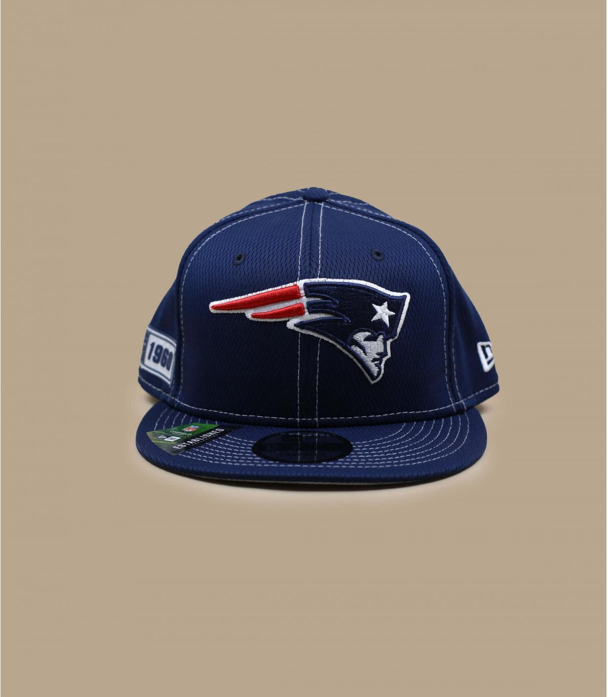 casquette Patriots bleu