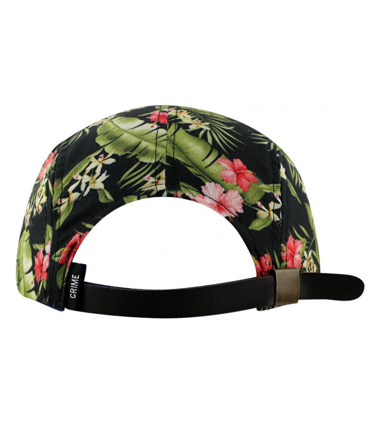 casquette homme fleur