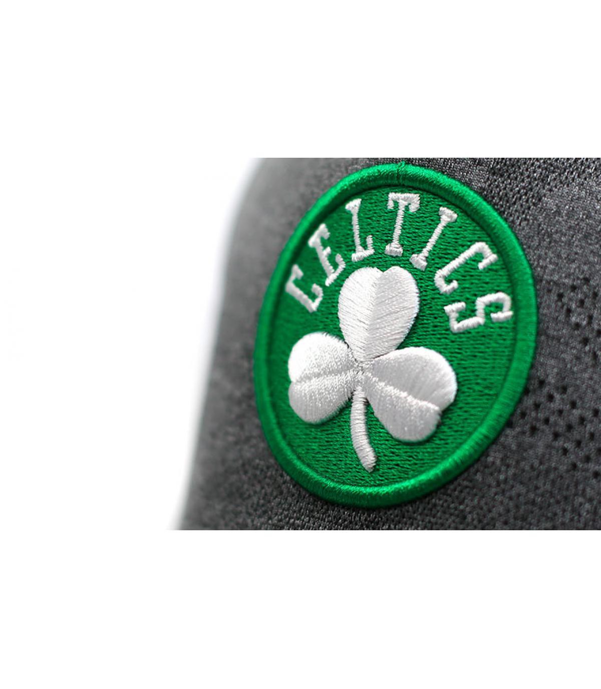 Détails Casquette Enginneered Plus Celtics Aframe black - image 3