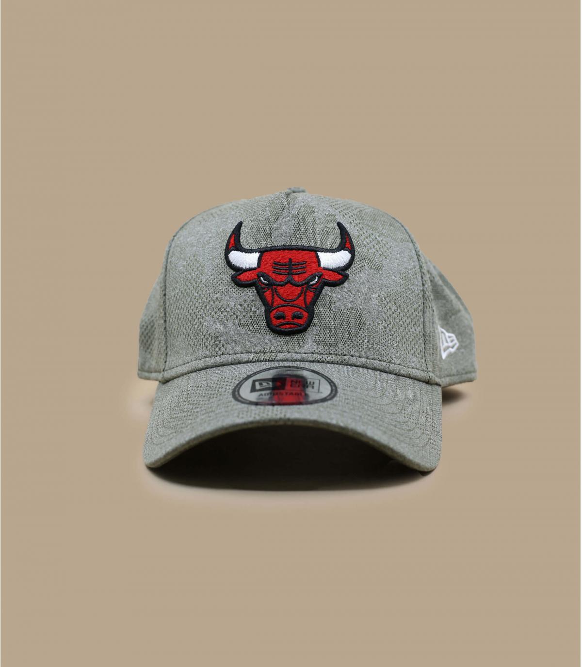 casquette Bulls vert