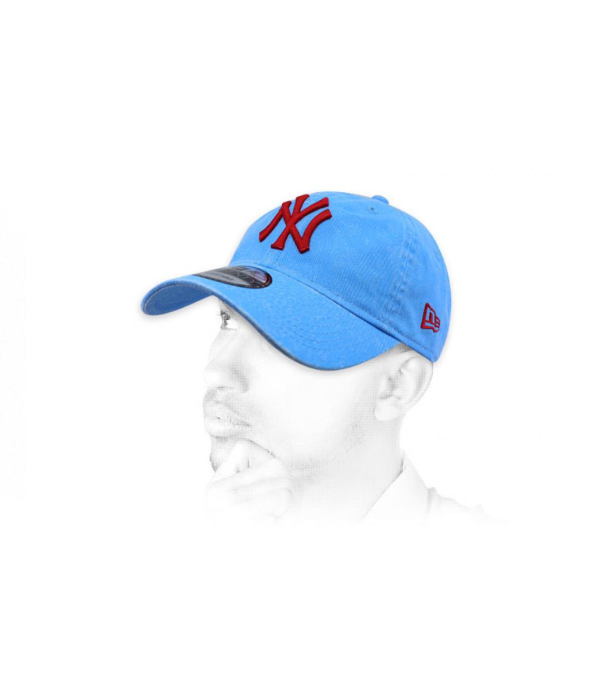 4ec0af277b6c6 Casquette bleue et bleu marine - Enorme choix - Headict