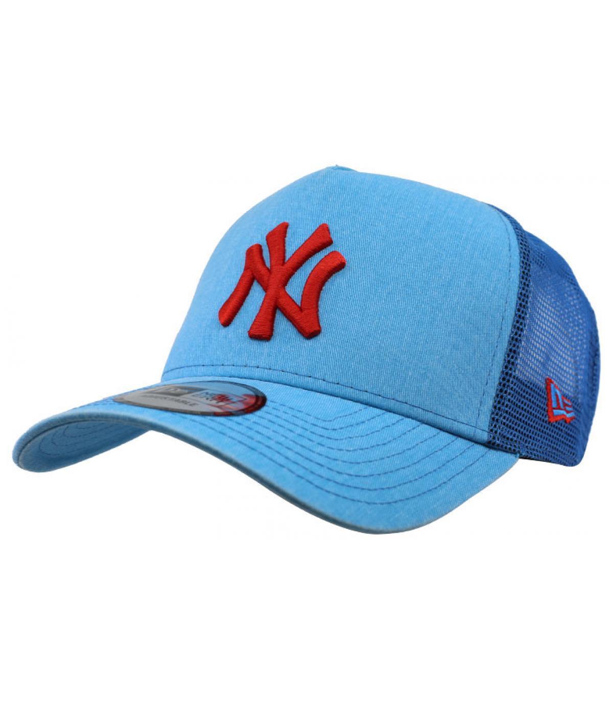 trucker bleu rouge NY