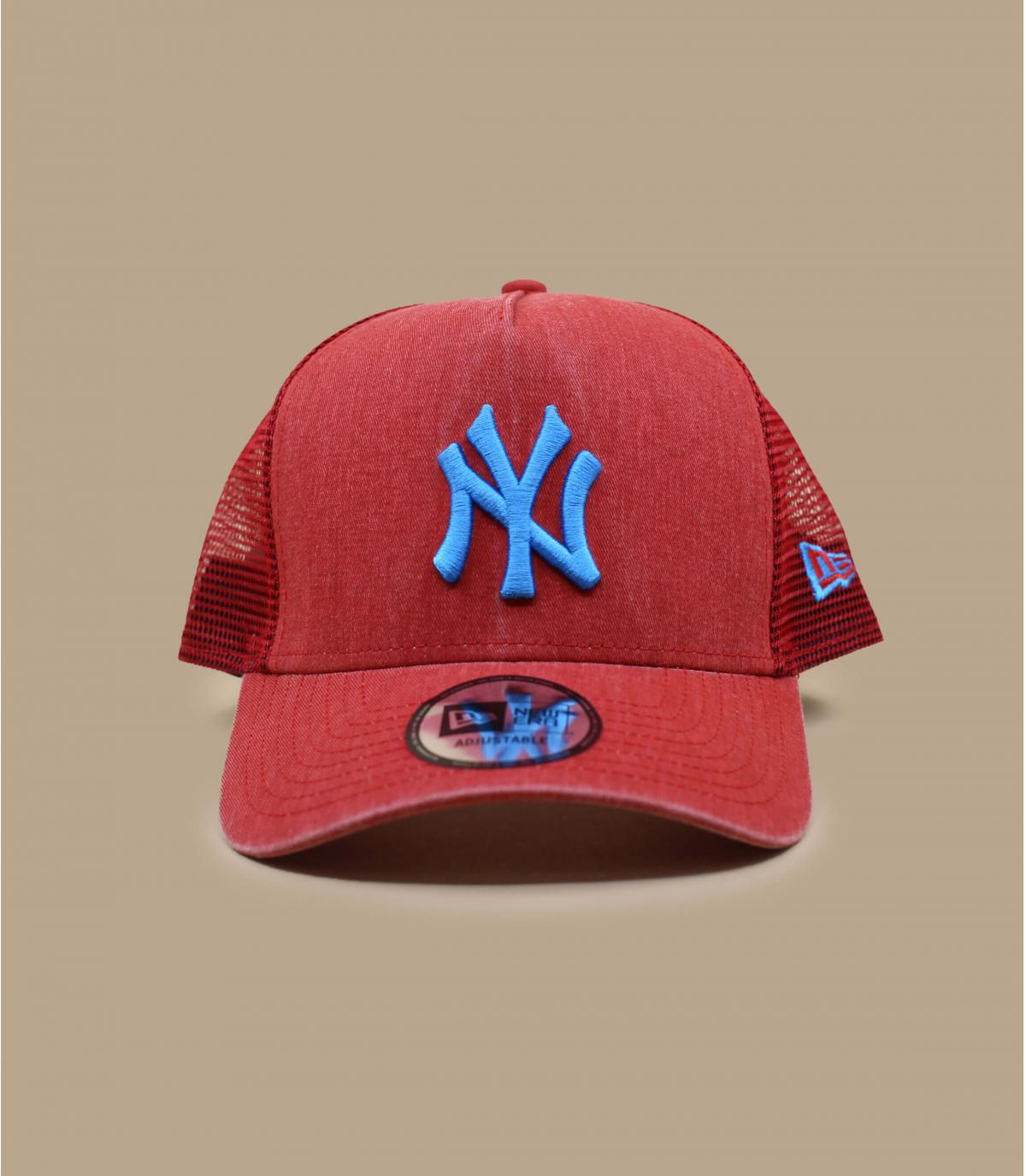 trucker rouge bleu NY