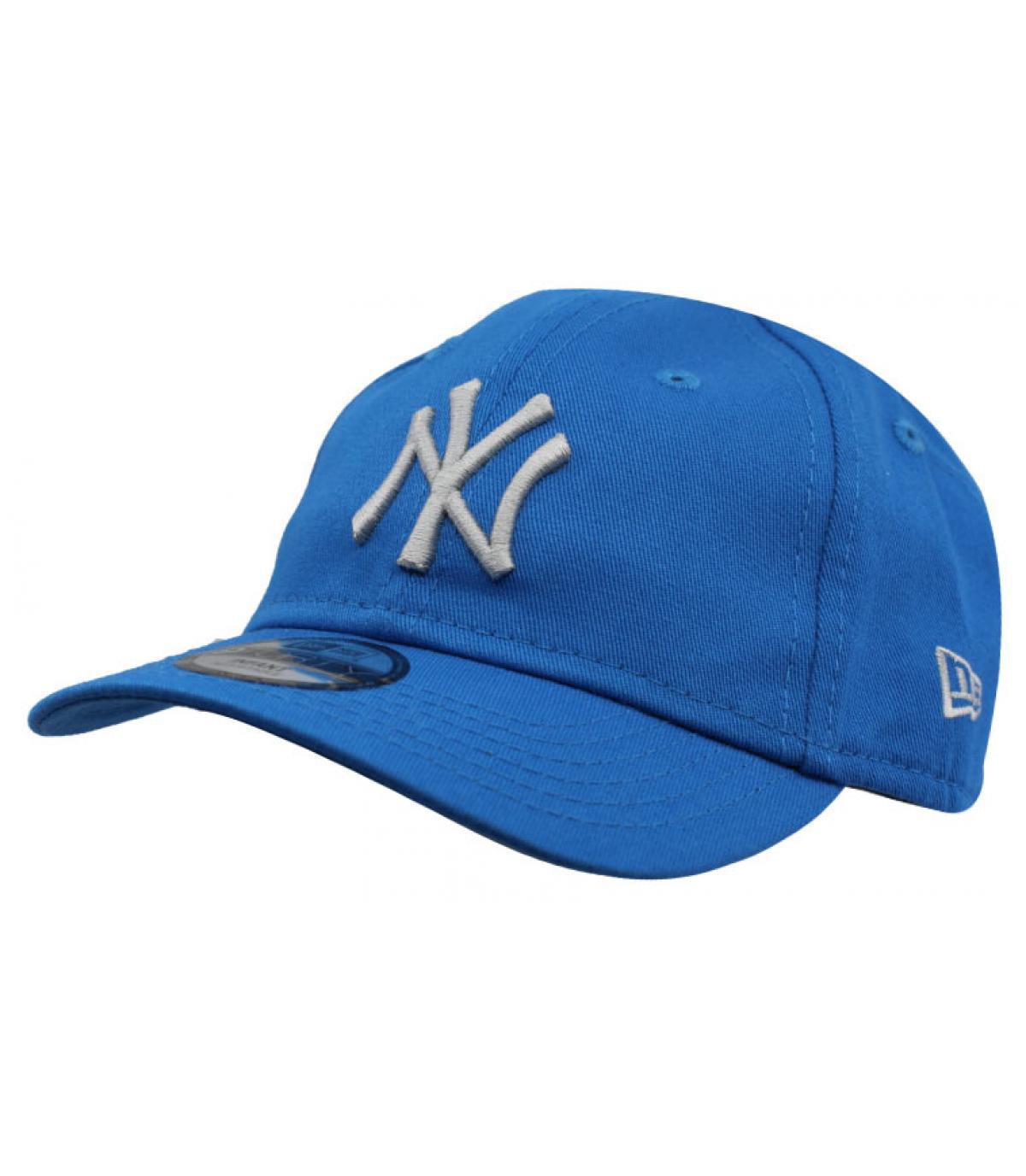 casquette bébé NY bleu