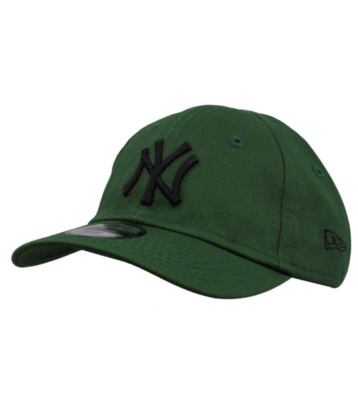 Détails Casquette bébé League Ess NY green black - image 2