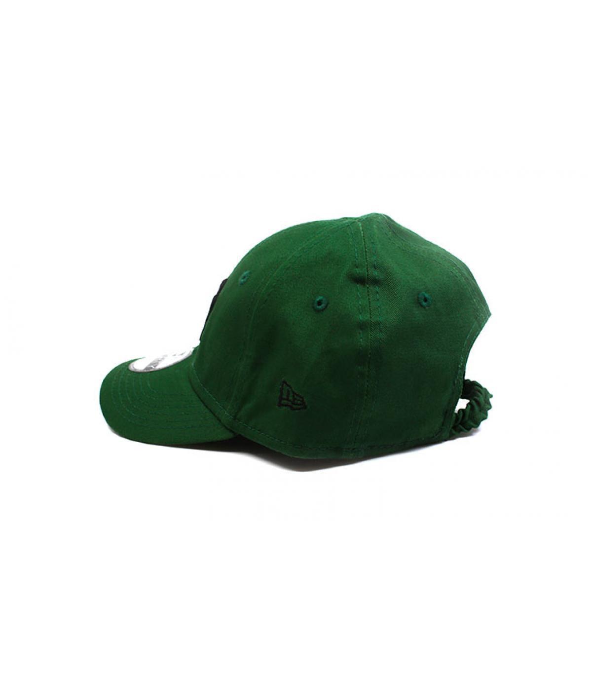 Détails Casquette bébé League Ess NY green black - image 4
