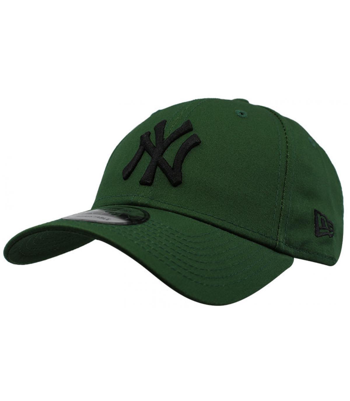 Détails Casquette Enfant League Ess NY green black - image 2