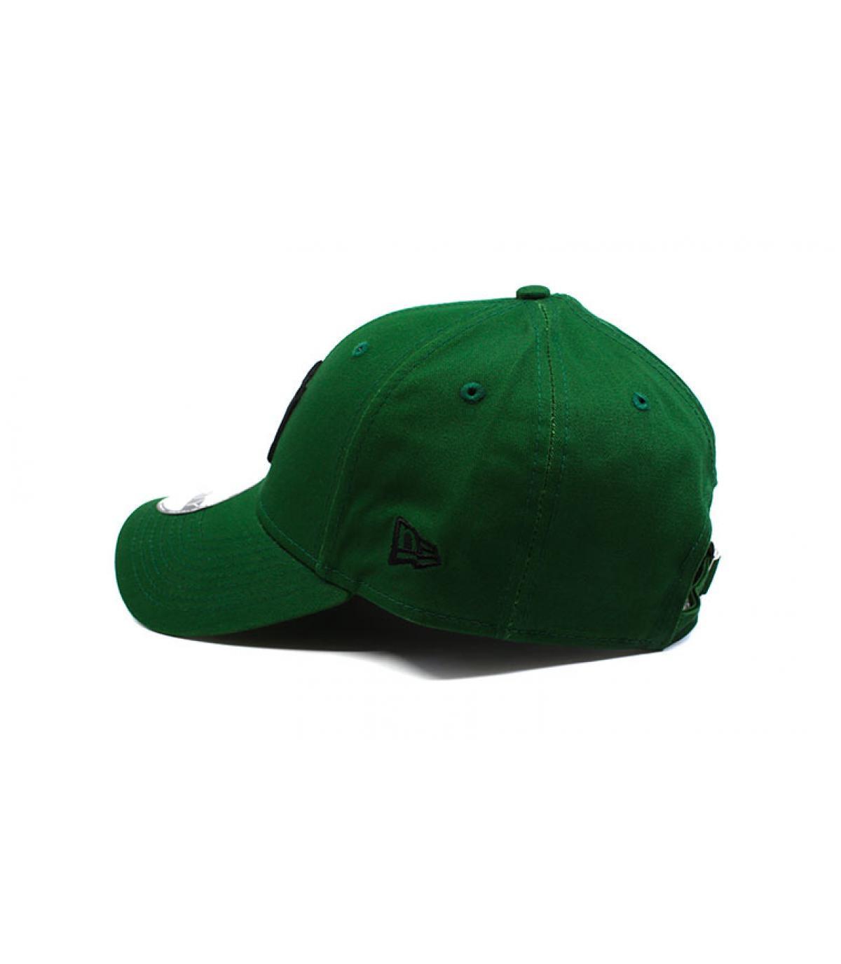 Détails Casquette Enfant League Ess NY green black - image 4