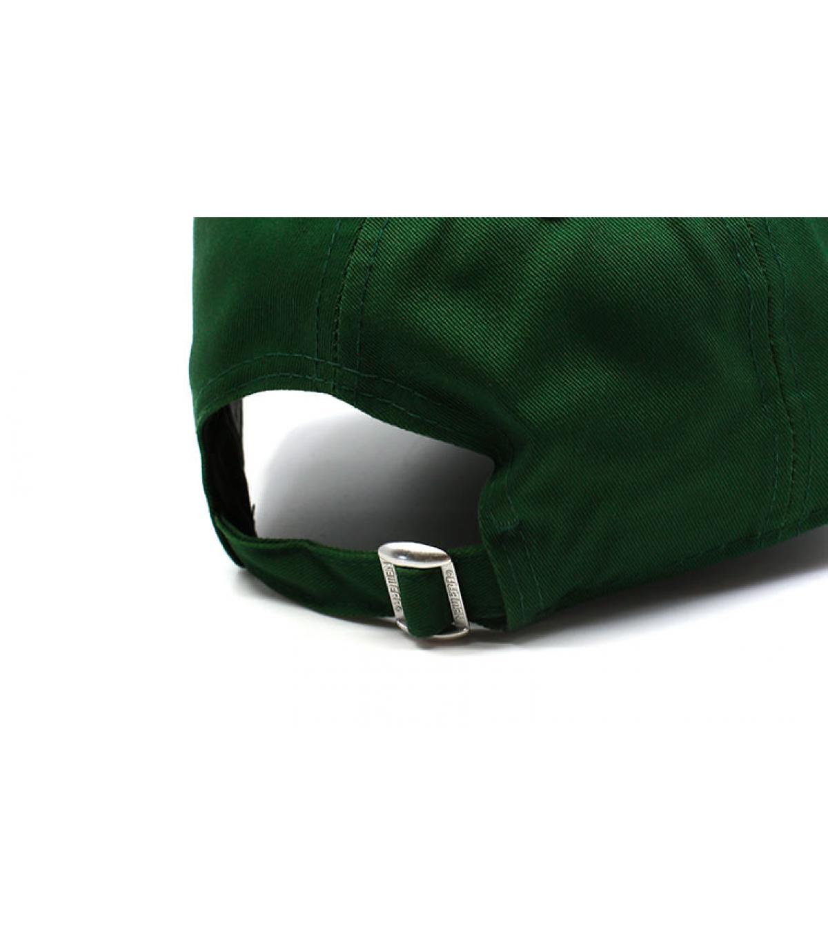 Détails Casquette Enfant League Ess NY green black - image 5
