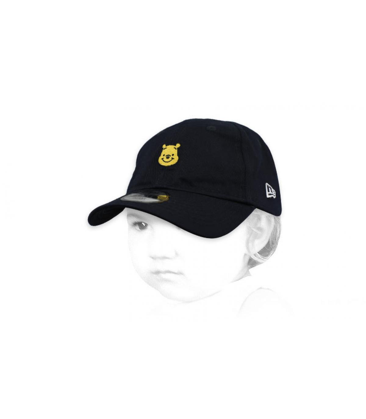 casquette bébé Winnie noir