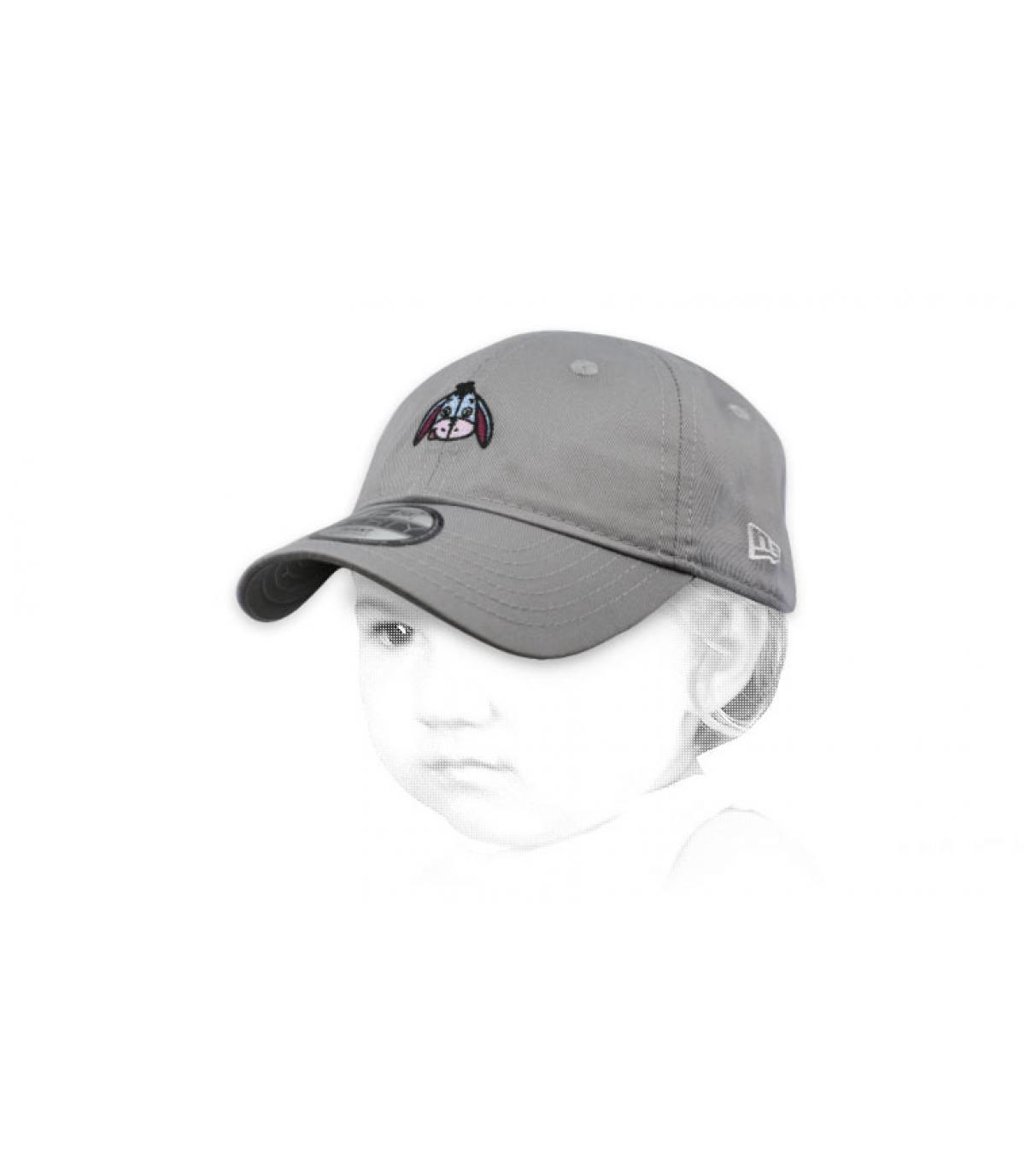 casquette bébé Bouriquet gris