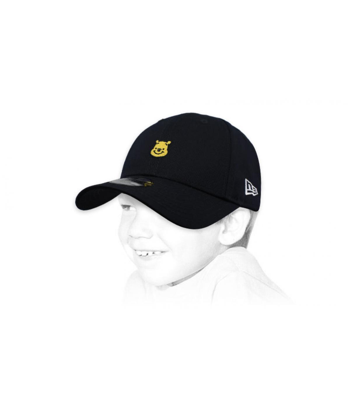 casquette enfant Winnie noir
