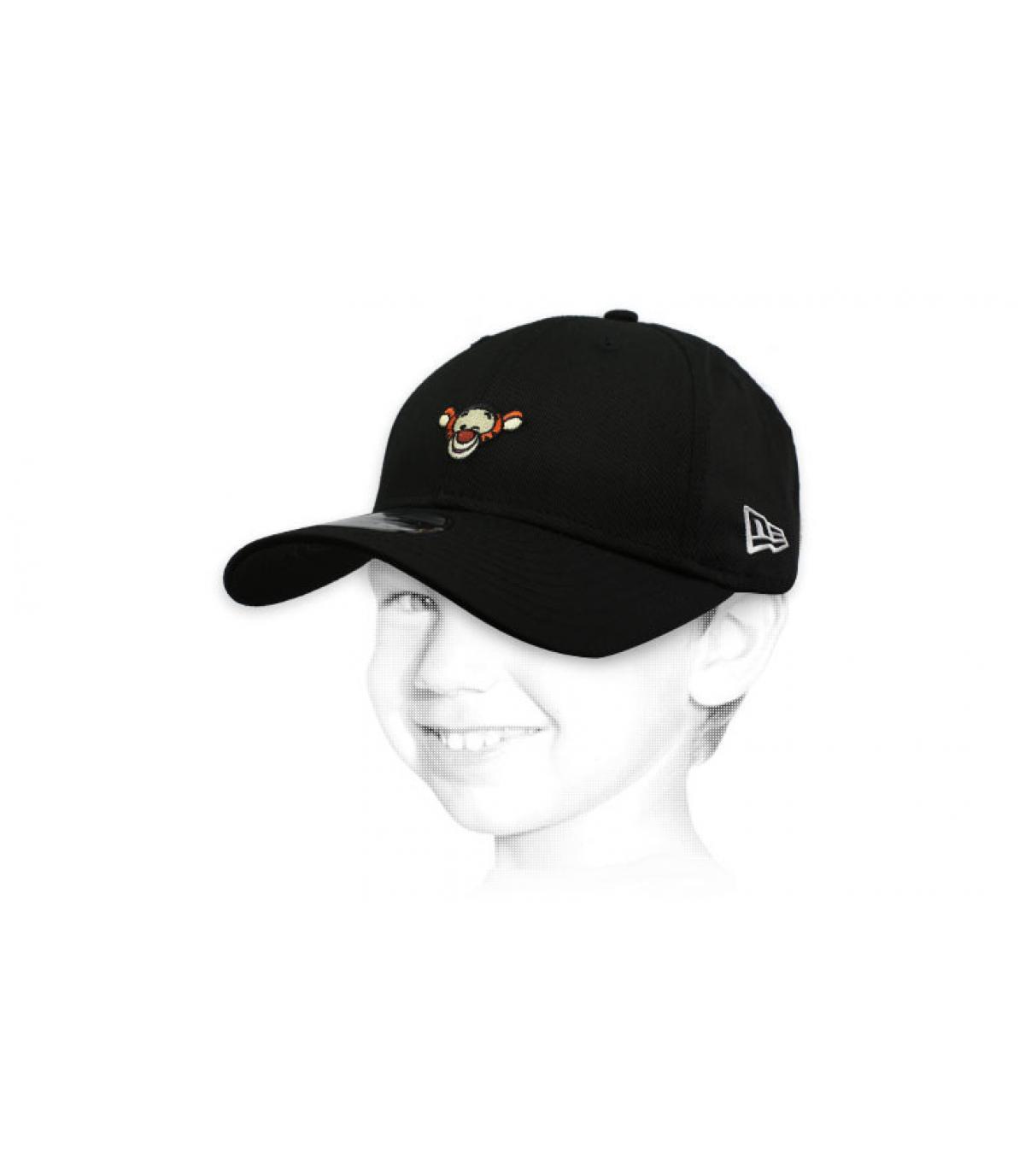 casquette enfant Tigrou noir