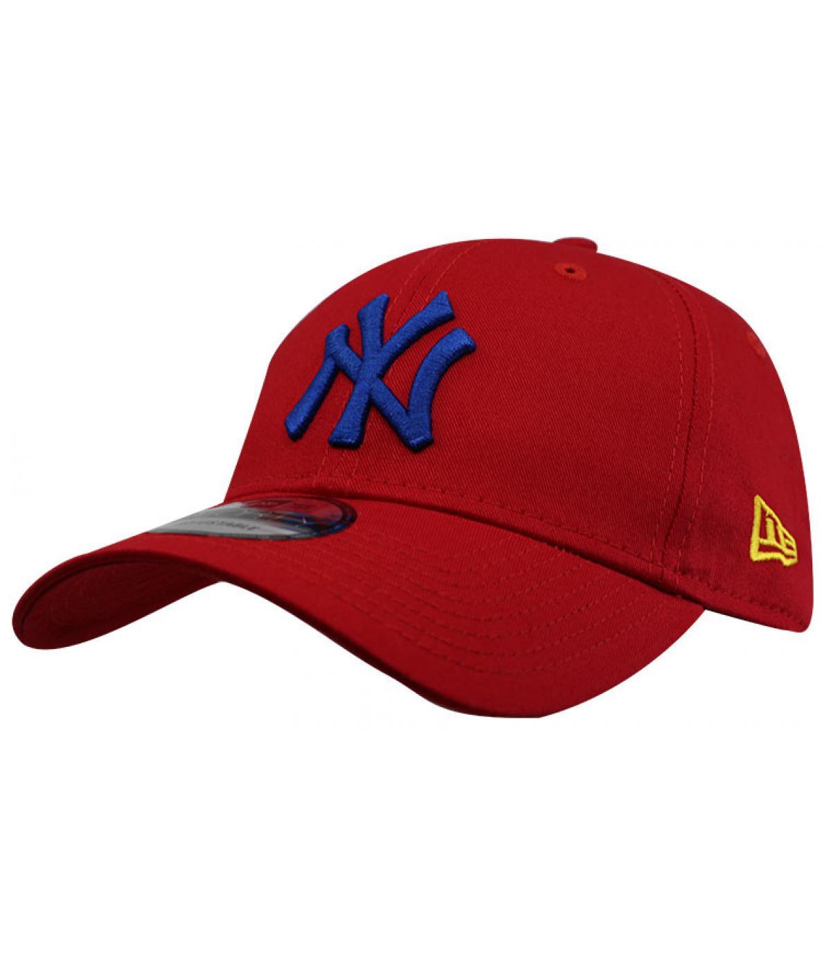 Détails Casquette League Ess NY 940 red blue - image 2