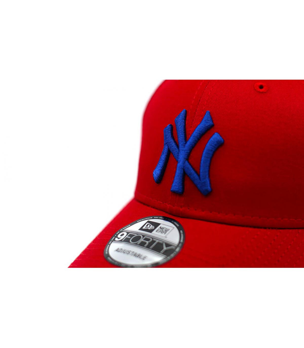 Détails Casquette League Ess NY 940 red blue - image 3