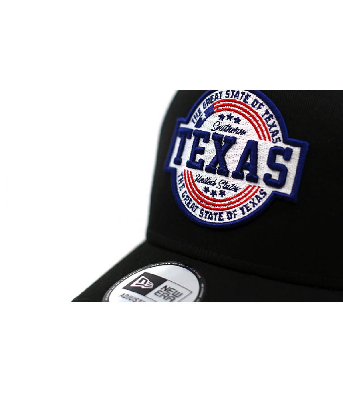 Détails Trucker USA Patch Texas black - image 3