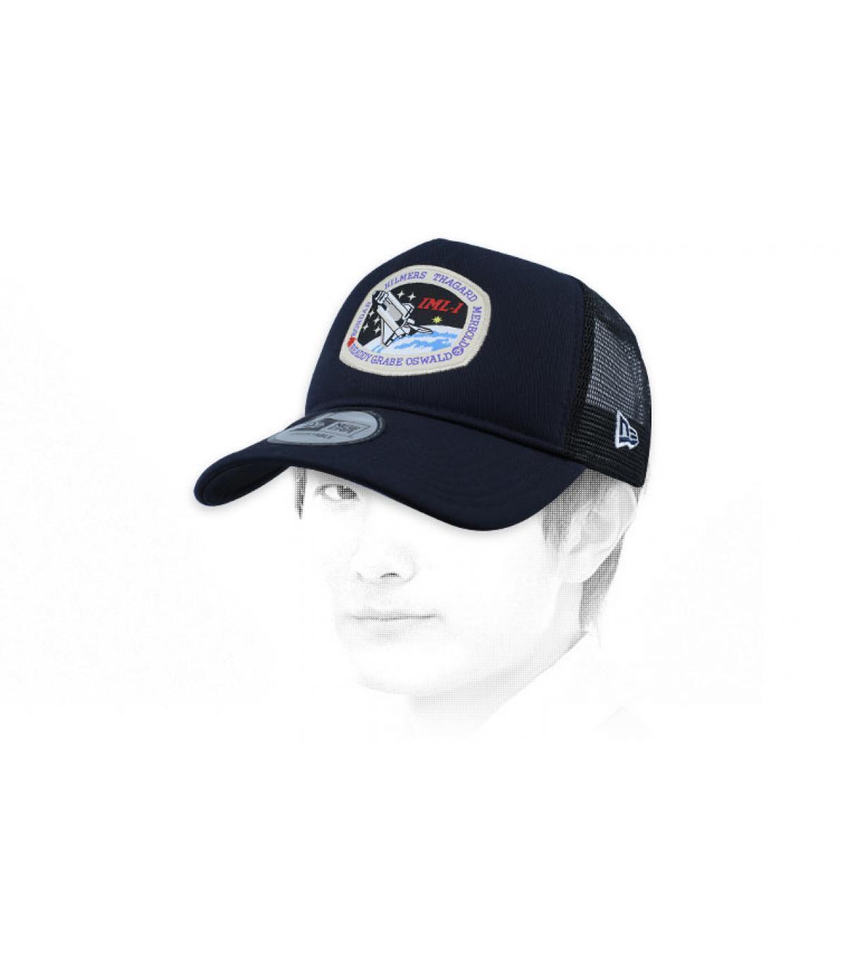 trucker NASA bleu