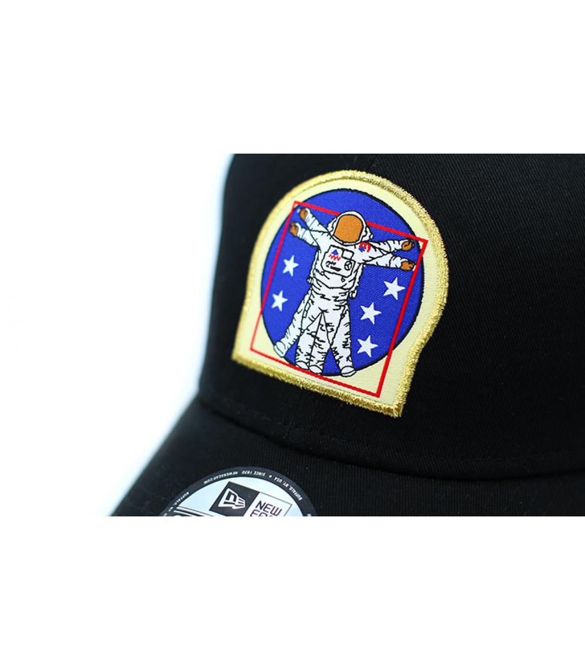 Détails Casquette ISA 940 black - image 3