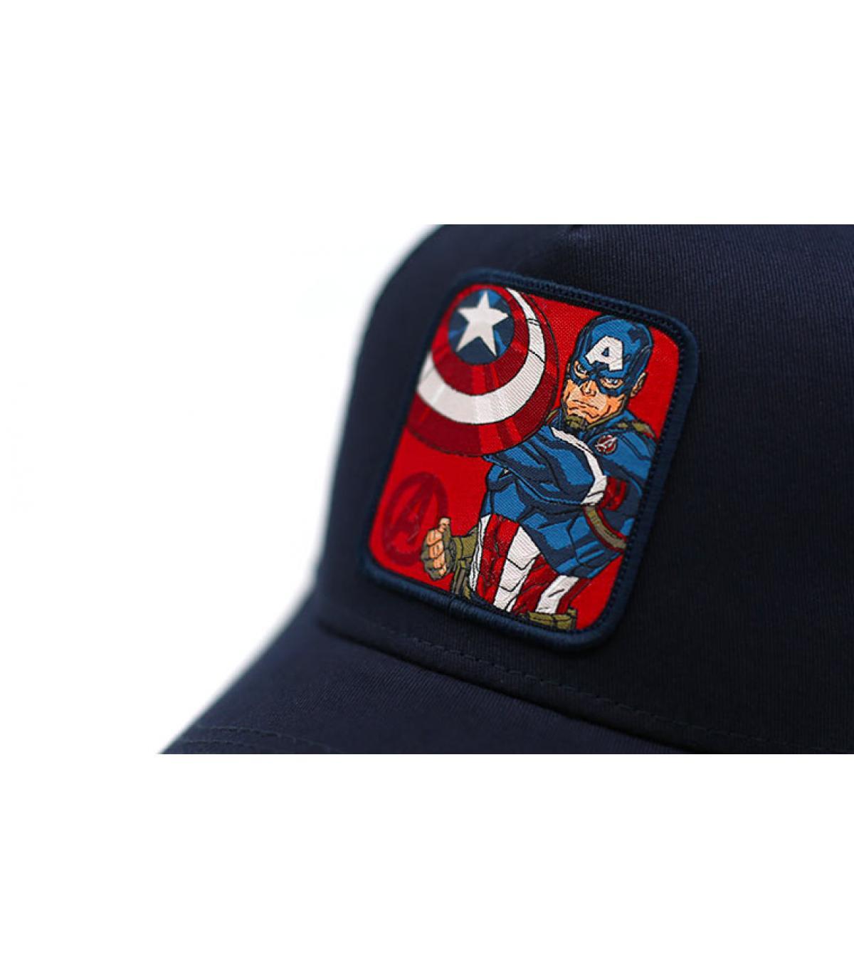 Détails Trucker Captain America - image 3