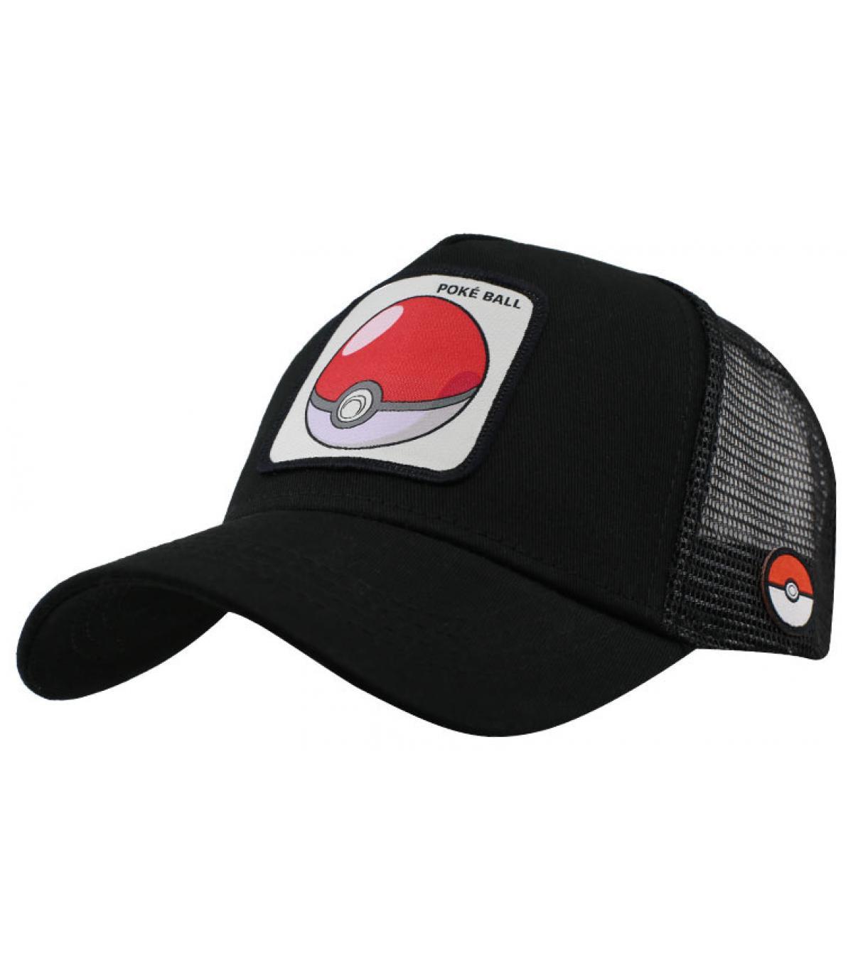trucker Poké ball noir
