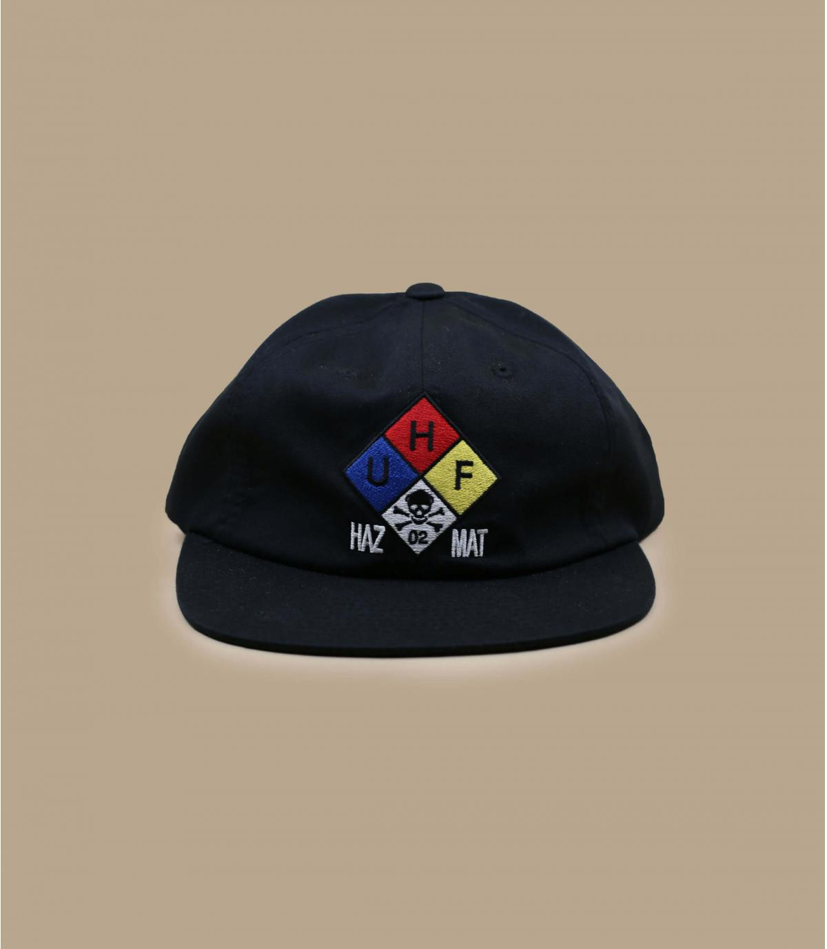 casquette Huf noir broderie