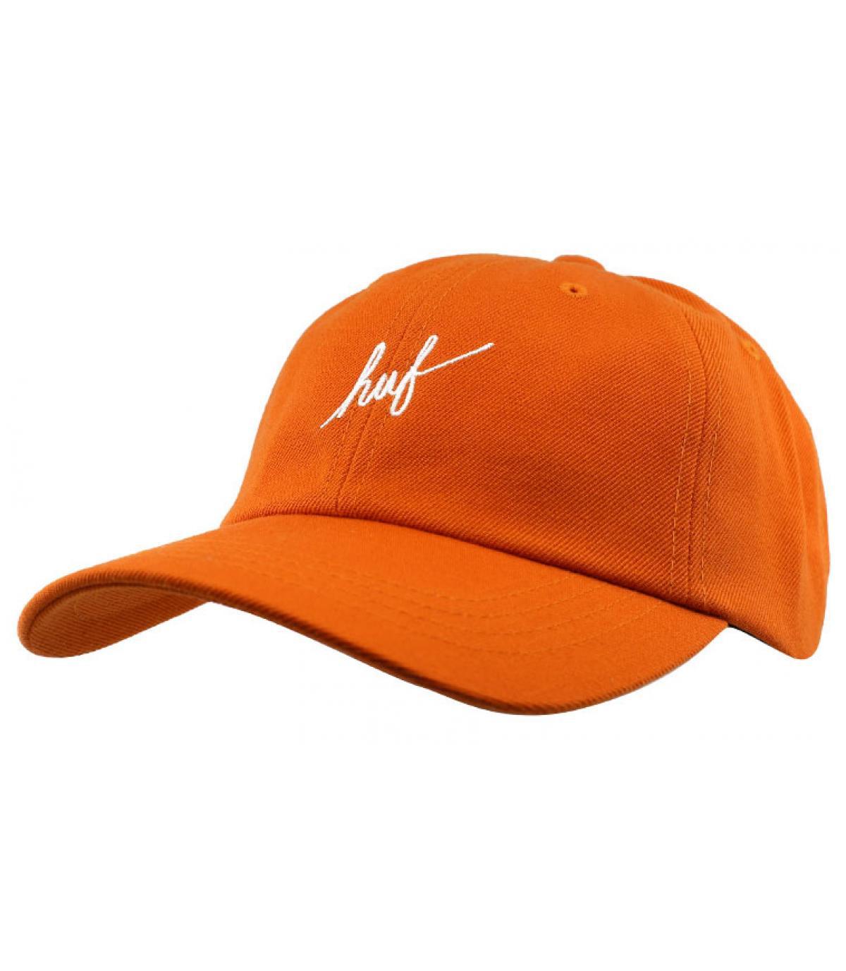 casquette Huf orange