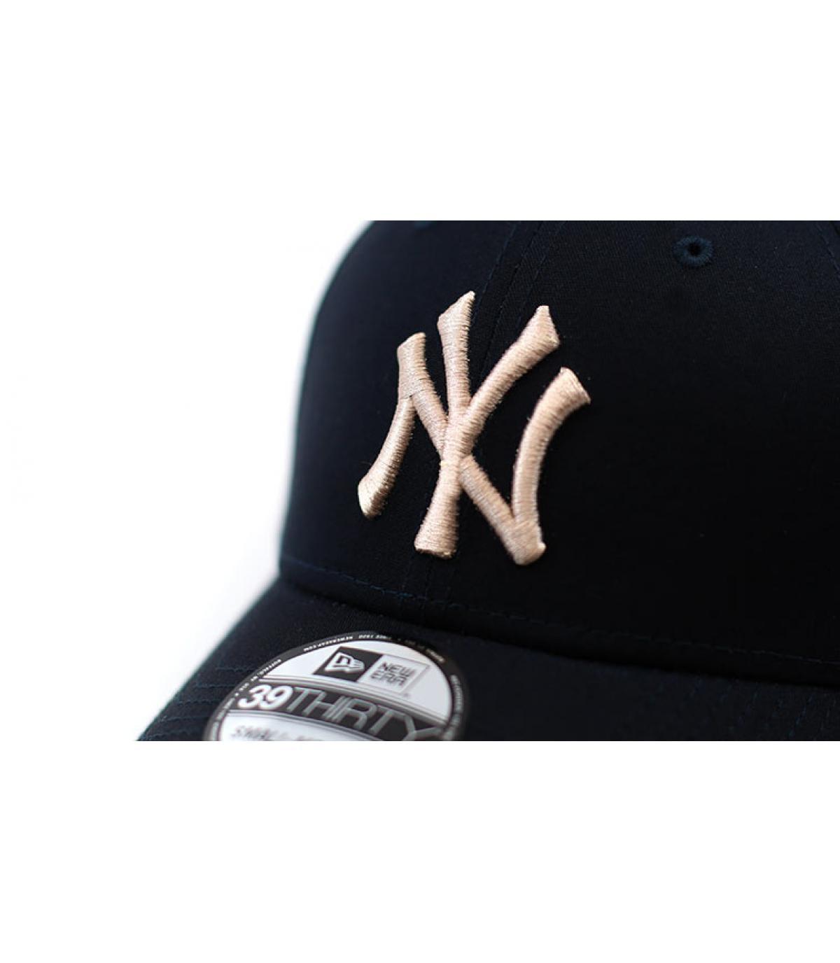 Détails Casquette League Ess NY 3930 navy stone - image 3