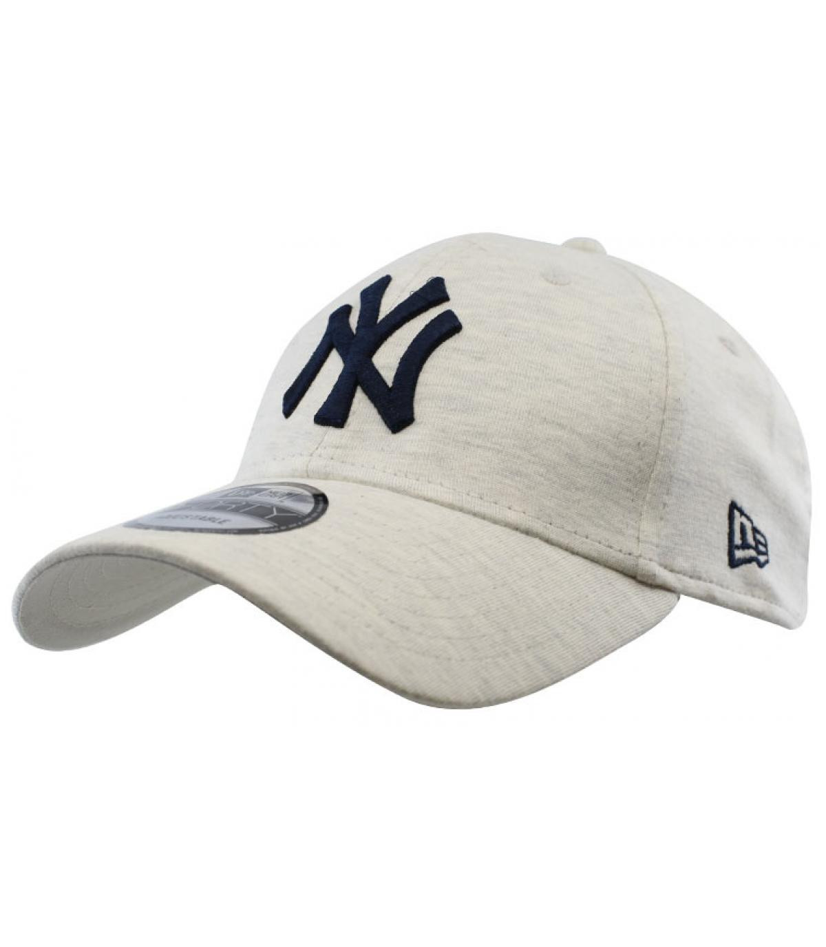 Détails Casquette Jersey Ess NY 940 white gray navy - image 2